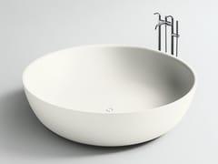 Vasca da bagno centro stanza rotonda in Corian®ROUND FISCHER - BOFFI
