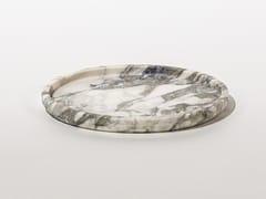 Vassoio rotondo in marmoROUND PLATE ARABESCATO - TCC WHITESTONE