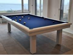 Tavolo da biliardo rettangolare in legnoROUNDY - BILLARDS TOULET