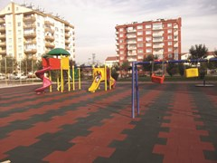 Pavimento modulare anti-traumaRUBBERTILE - ONEK