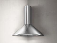 Cappa ad angolo in acciaio inox con illuminazione integrataRUBINO CORNER - ELICA