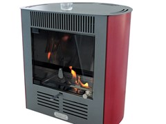 Stufa a bioetanolo RUBY MINI SMART BORDEAUX - TECNO AIR SYSTEM