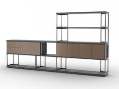 Libreria modulare in metalloRUBY - F.LLI PIERMARIA