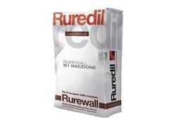 RUREDIL, RUREWALL® B1 INIEZIONE Legante idraulico pozzolanico