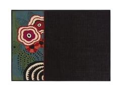 Tappeto a fiori in lana RUSTIC CHIC | Tappeto a fiori - Rustic Chic
