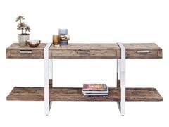 Consolle rettangolare in legno di recupero con cassettiRUSTICO   Consolle - KARE DESIGN