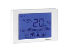 Cronotermostato settimanale touch screen a radiofrequenzaCronotermostato a radiofrequenza - EMMETI