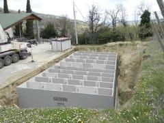 Sistema di recupero acqua piovanaRecupero acqua piovana per aziende - GAZEBO
