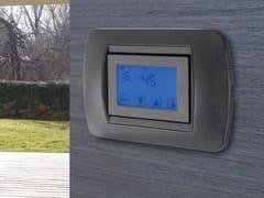 Cronotermostato touch screen da incasso?Cronotermostato touch screen da incasso - EMMETI