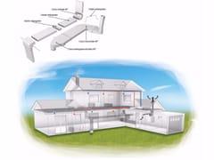 Impianto di ventilazione meccanica forzataCanalizzazioni piatte - IRSAP