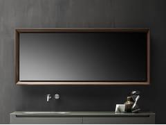 FALPER, Specchio con cornice Specchio a parete con cornice in legno