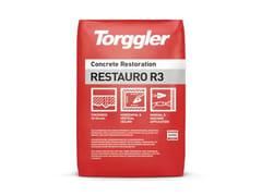 Malta premiscelata monocomponente per protezione CLSRestauro R3 - TORGGLER