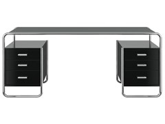 Scrivania rettangolare con cassettiS 285/5 - THONET