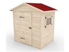 Casetta per giardini in legnoS - ZURI DESIGN