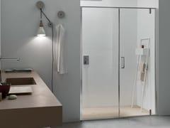Box doccia a nicchia in vetro con porta pivotanteS6 | Box doccia a nicchia - ARCOM