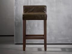 Sgabello alto in legnoSAAR | Sgabello - PIET BOON