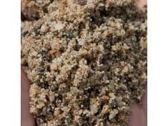 VAGA, Sabbia FRANTUMATA - mm 0,1÷4,0 Sabbia di fiume