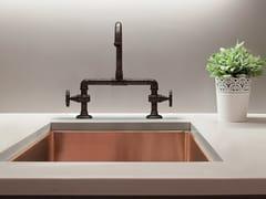 Lavello a una vasca in rameSABRI | Lavello a una vasca - BLEU PROVENCE