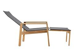 Sedia a sdraio con poggiapiediSAFARI | Sedia a sdraio con poggiapiedi - SOLPURI
