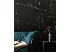Pavimento/rivestimento in ceramica sinterizzata effetto marmoSAHARA NOIR - ITT CERAMIC