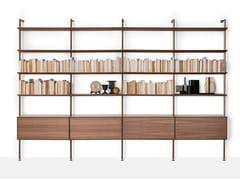 Libreria con fissaggio pavimento-soffittoSAILOR - LIVING DIVANI