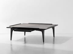 Tavolino basso in rovere con vano contenitoreSALK   Tavolino quadrato - DISTRICT EIGHT DESIGN CO.