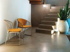 Sedia a slitta da giardino in acciaio inoxSALLY | Sedia da giardino - CORO