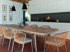 Tavolo da giardino rettangolare in laminatoSALLY | Tavolo da giardino - CORO