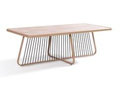 Tavolino da giardino rettangolare in laminatoSALLY | Tavolino rettangolare - CORO