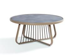 Tavolino da giardino rotondo in laminatoSALLY | Tavolino rotondo - CORO