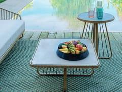 Tavolino da giardino quadrato in laminatoSALLY | Tavolino quadrato - CORO