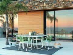 Tavolo da giardino quadrato in laminatoSALLY | Tavolo quadrato - CORO