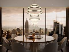 Lampada a sospensione a LED in metallo con dimmer SALO ELAMA -