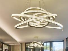 Lampada a sospensione a LED in metallo con dimmerSALO LUNAR - CAMERON DESIGN HOUSE