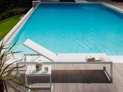 Lettino da giardino in alluminio SAMBA RIO | Lettino da giardino in alluminio - Samba Rio