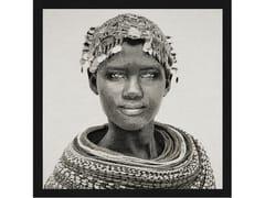 Quadro in poliestereSAMBURU GIRL PANEEL B/W - MONDIART INTERNATIONAL