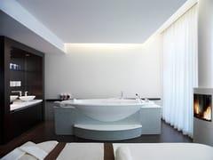 Vasca da bagno idromassaggio ovaleSANOSPA | Vasca da bagno idromassaggio - KLAFS
