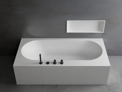 Vasca da bagno rettangolare su misuraSAPPHIRE - MOMA DESIGN BY ARCHIPLAST