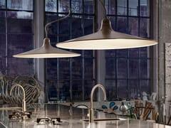 Lampada a sospensione a LED in alluminioSASSMAÒR | Lampada a sospensione - ALDO BERNARDI