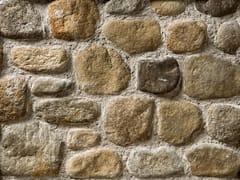Rivestimento in pietra ricostruitaSASSO FIUME P14 | Marrone Terra - GEOPIETRA
