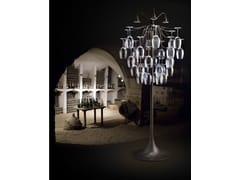 Lampada da terra a LED in vetroSAUVIGNON | Lampada da terra - ALDO BERNARDI