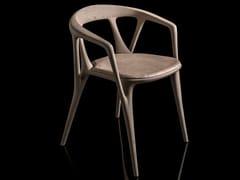 Sedia in legno con cuscino integratoSAVANNA - H-07