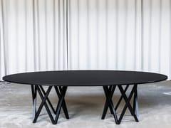 Tavolo ovale in legnoSB55   Tavolo ovale - BULO