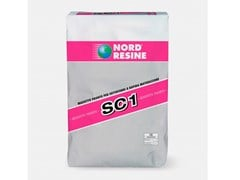 NORD RESINE, SC 1 MASSETTO PRONTO Massetto in sabbia e cemento pronto all'uso, a ritiro controllato