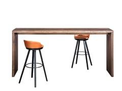 Tavolo alto rettangolare in legnoSC52 - CHRISTIAN SEISENBERGER