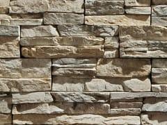 Rivestimento di facciata in pietra artificialeSCAGLIA P16 - GEOPIETRA®