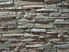 Rivestimento in pietra ricostruitaSCAGLIA P16 | Grigio Terra - GEOPIETRA