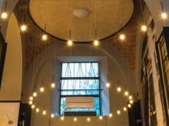 Lampada a sospensione a LED a luce diretta in vetro borosilicatoSCIAMELED MERCURIO - ALBUM ITALIA