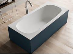 Vasca da bagno centro stanza in Solid SurfaceSCIARADA | Vasca da bagno - KAROL ITALIA