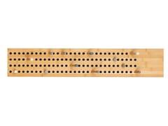 Appendiabiti da parete in bambùSCOREBOARD LARGE HORIZONTAL - WE DO WOOD
